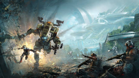 Titanfall 2 box cover pano
