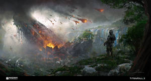 Titan Crashsite by 2buiArt