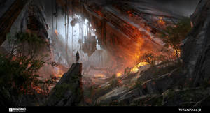 Titan Crashsite Closer View