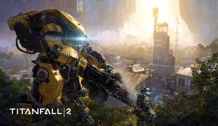 Titanfall 2 DLC 3 keyart by 2buiArt