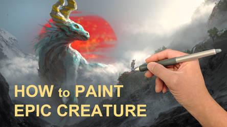 Paint Demo - EPIC creature