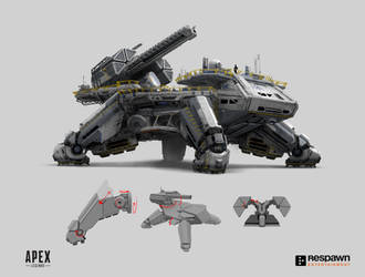Apex Supply Ship by 2buiArt