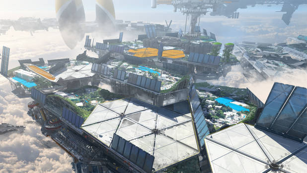 Apex Legend- Olympus early concepts