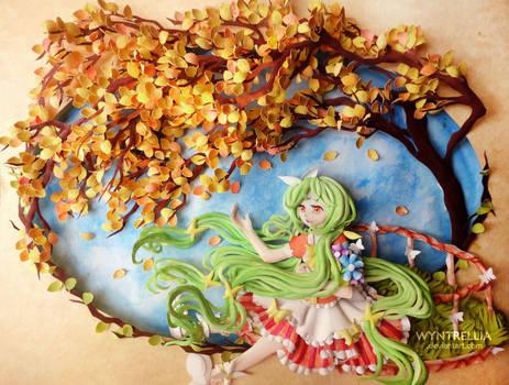 Paper Art: Sweet Little Yuka