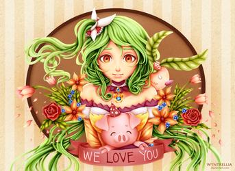 Happy Birthday, We Love You by Wyntrellia