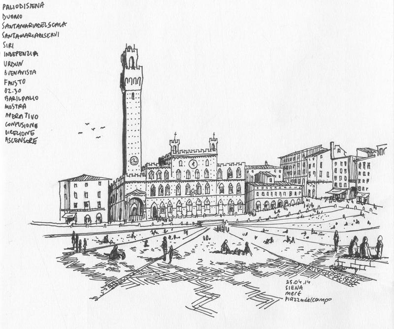 Piazza Del Campo Siena By Bozwolfbros On Deviantart