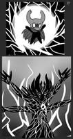 Hollow Knight AU doodles 2