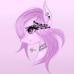 Pastel pony sketchy sketchy by ShyLunaAdopt