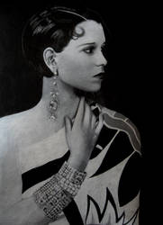 Commission - Louise Brooks