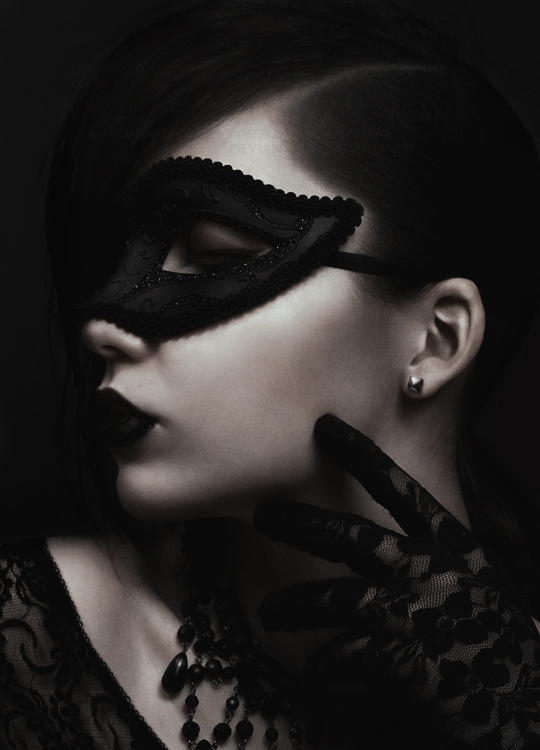 Lace Masquerade by KimJSinclair