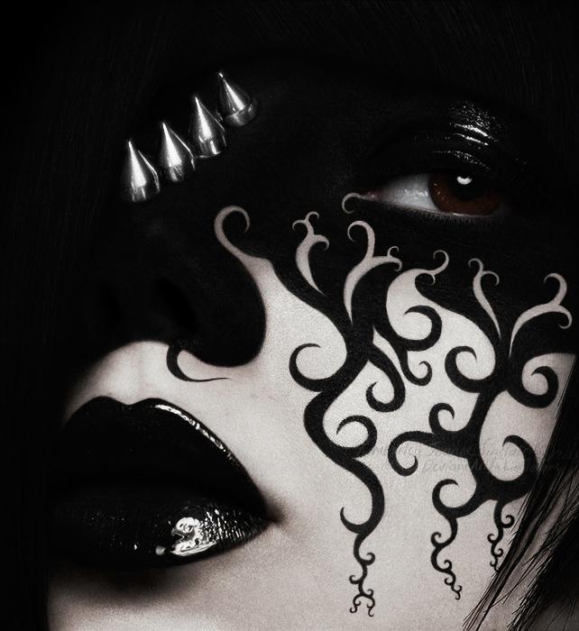 Spikes and Swirls by xKimJoanne