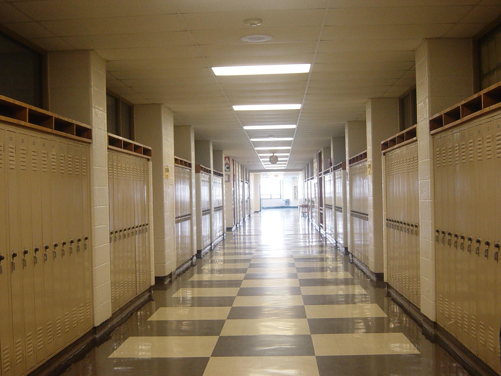 school hallway background - photo #16