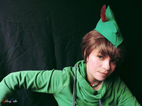 Casual Peter Pan