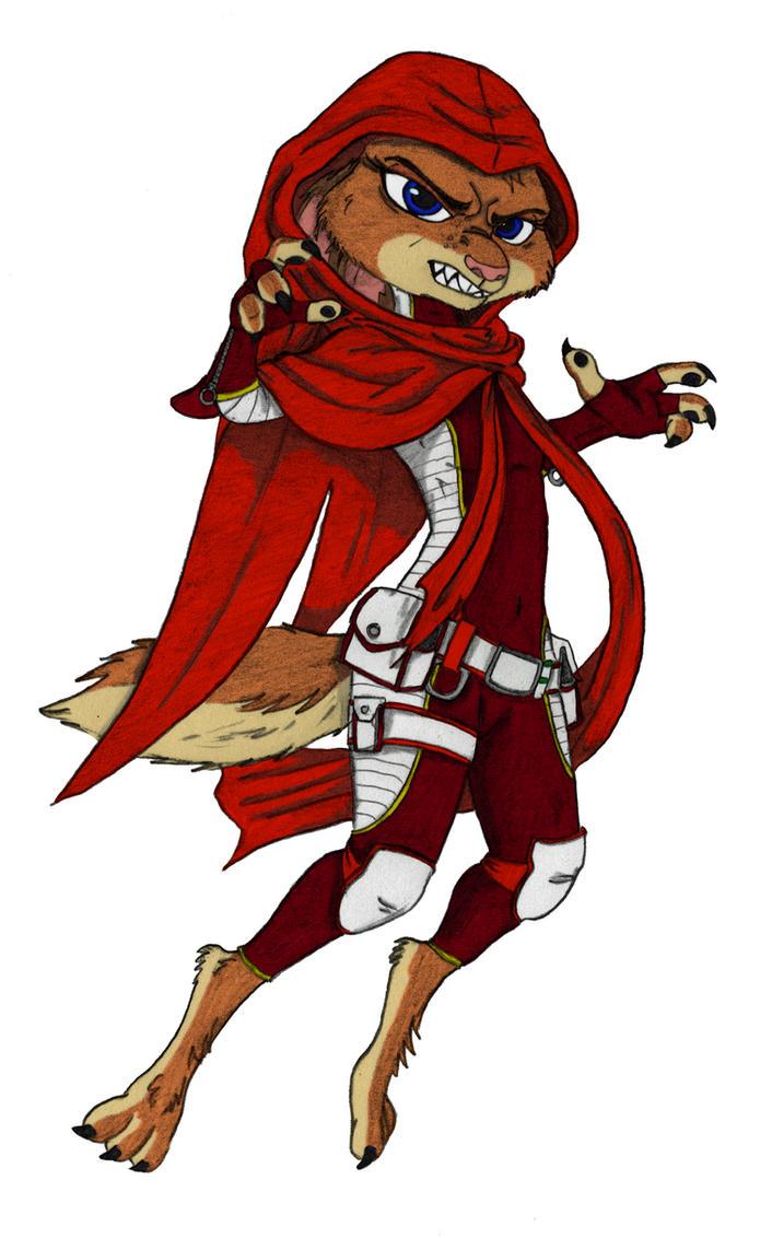 Robyn Wilde Is Scarlet - Colorized by Otakurec37