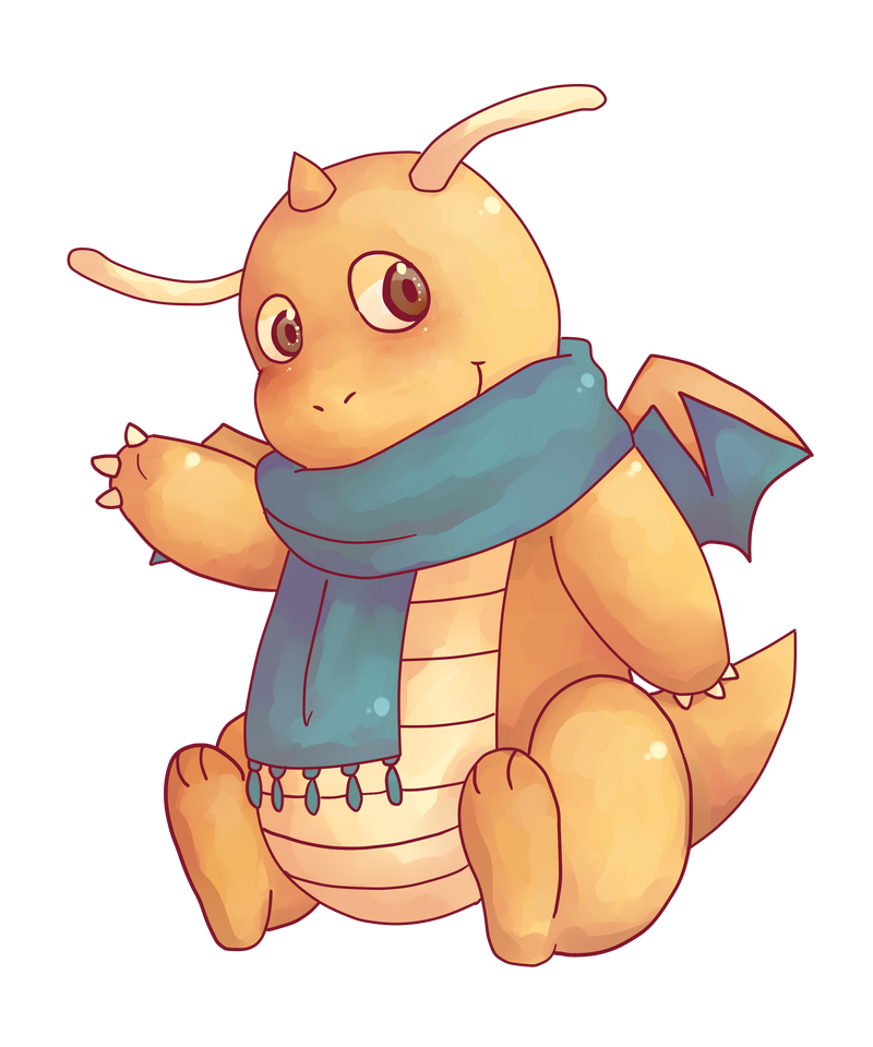 Dragonite by saeru-bleuts