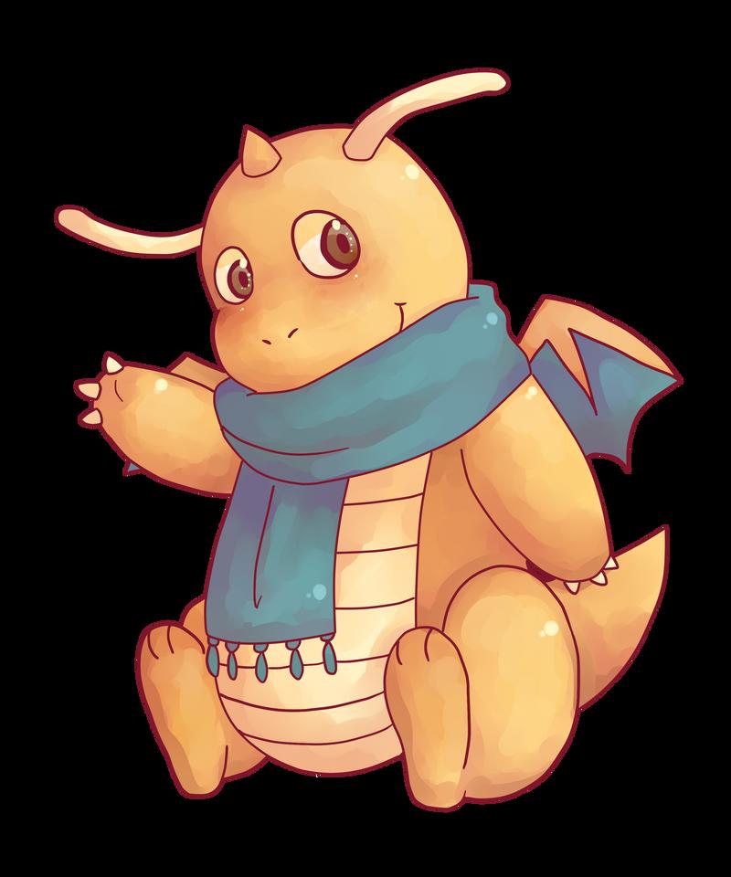 Dragonite by saeru-bleuts