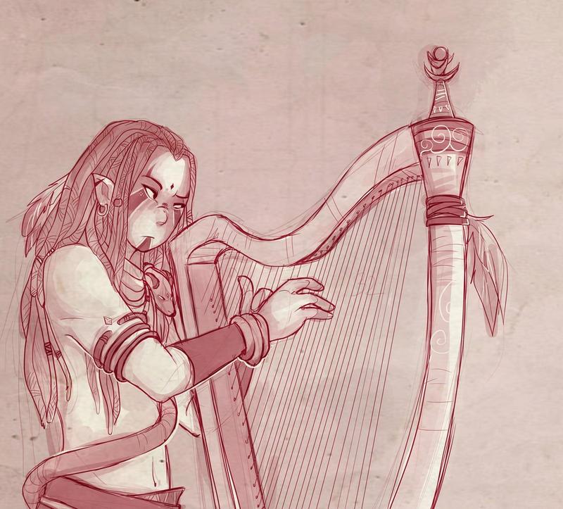 Cliquez ou mourrez. Ici c'est l'antre de Bleuts la Bleutsante.  - Page 42 Dyph_harpe_by_saeru_bleuts-d98kj4c