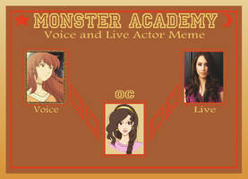 Monster Academy - Rhea Voice Actor and Live Actor