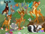 Progress on My Bambi Pixel Layout