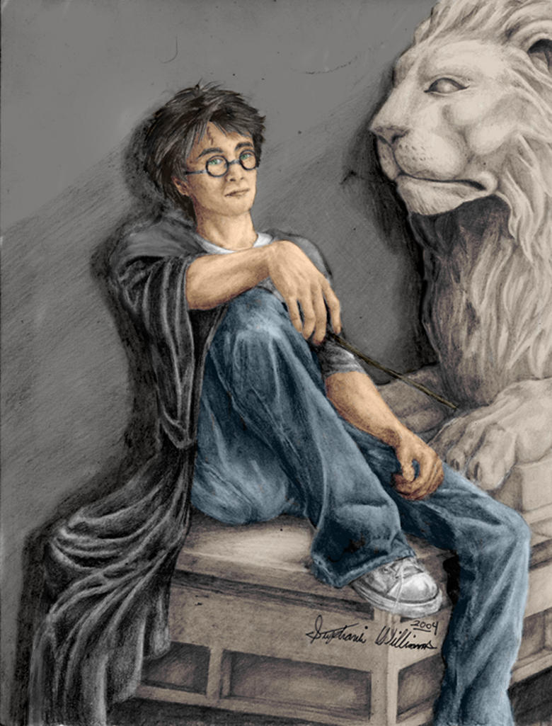 Harry Potter by Dinaitius
