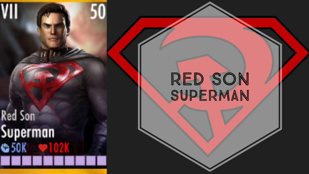 Superman Red Son Injustice Stats