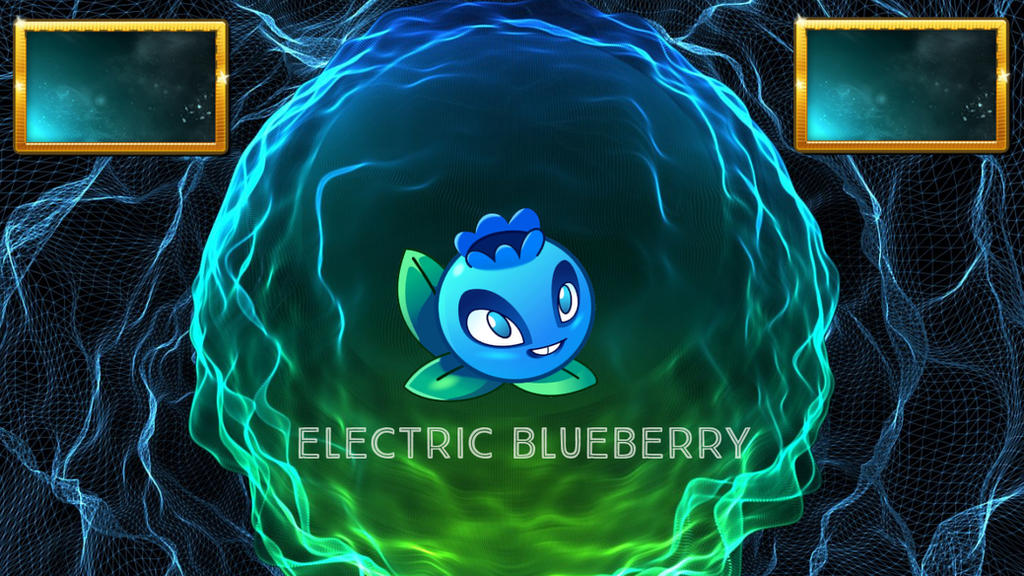 Plants Vs Zombies 2 Electric Blueberry by