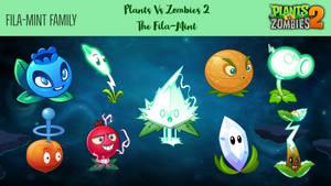 Plants Vs Zombies 2: The Fila-Mint Family