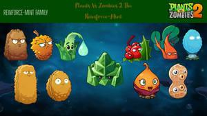 Plants Vs Zombies 2: Reinforce-Mint Family