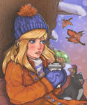 Metroid Samus - Winter Day