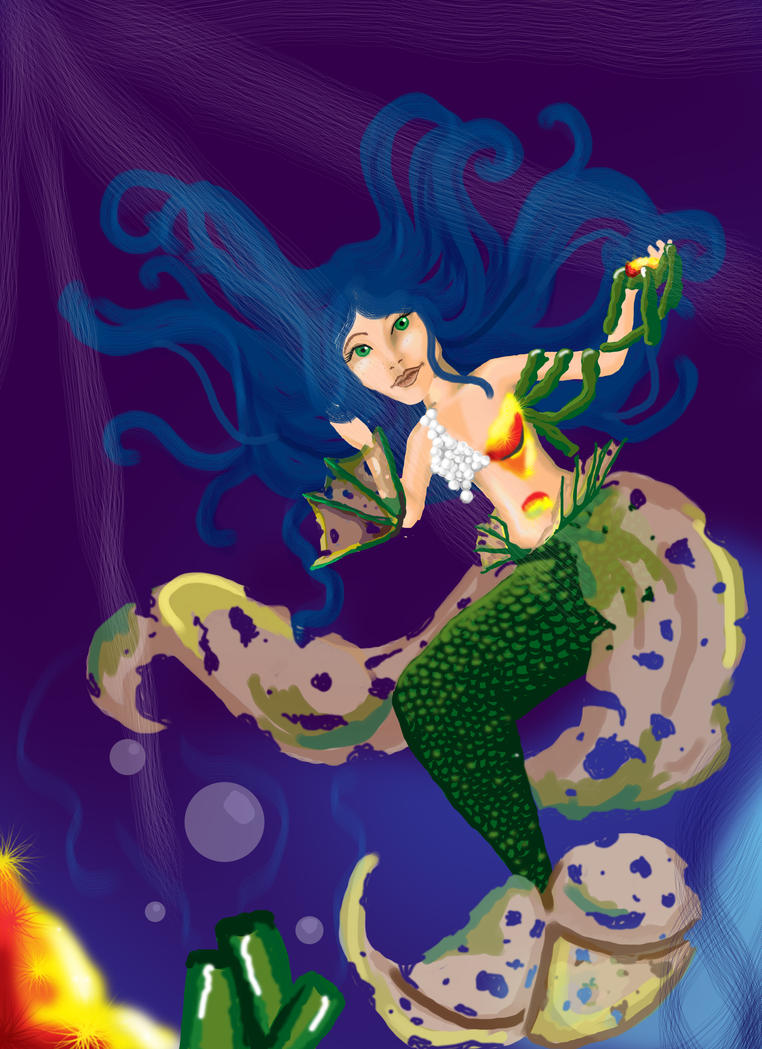 Mermaid Tail by SickMell
