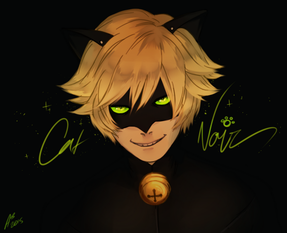 Cat Noir by SMaskVXN