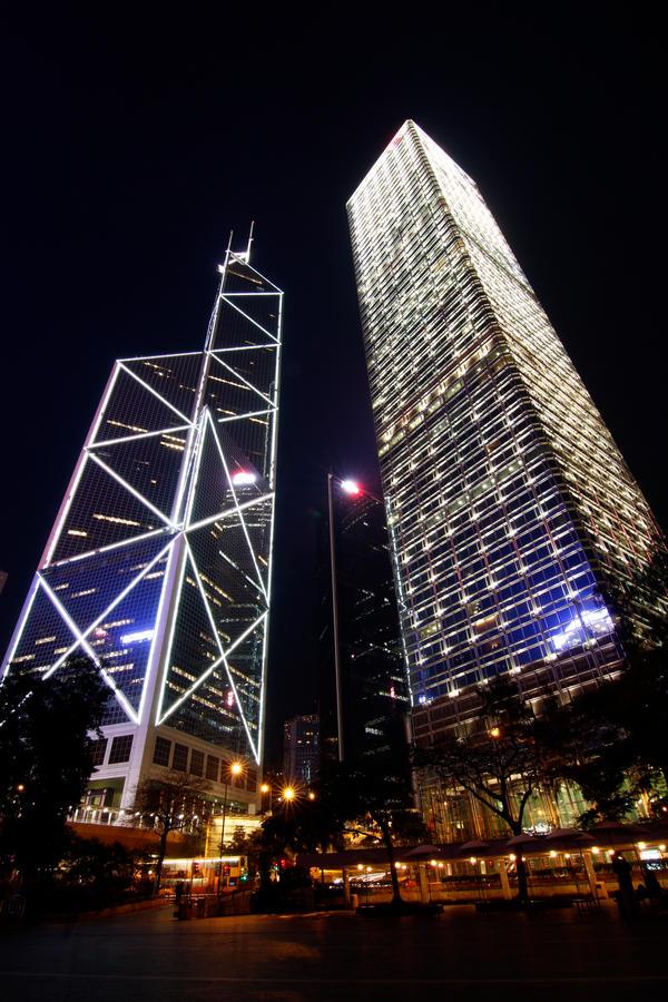 Hongkong Skyline 02 by dzign-art