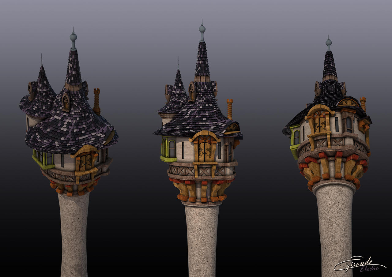 Tangled 39 s tower by vaad june on deviantart - Tangled tower wallpaper ...