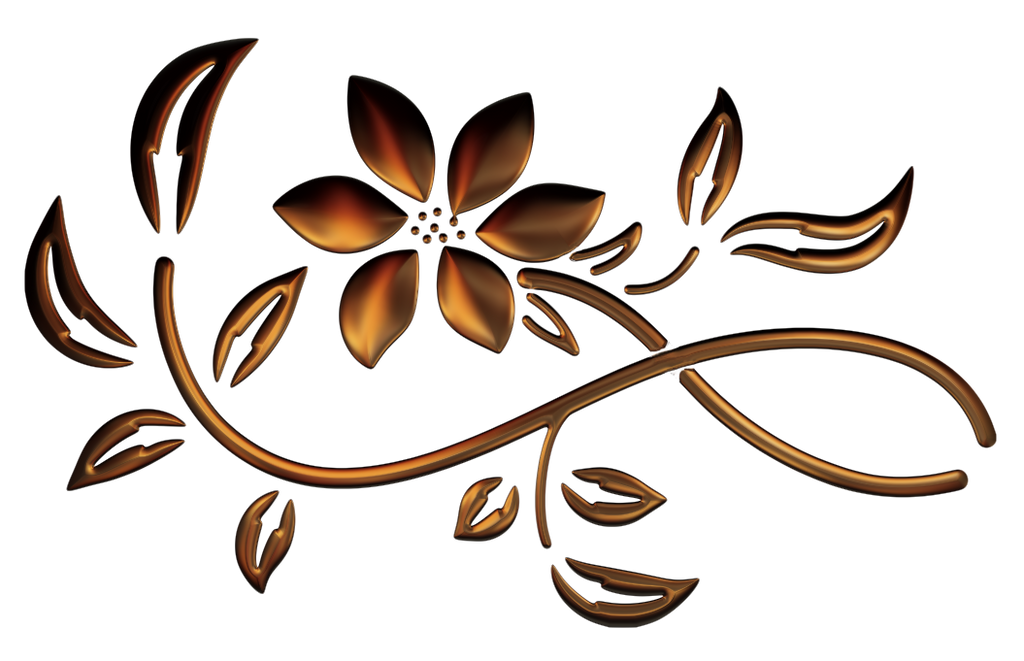 3 spring flowers by roula33 on deviantart clip art dividers and bars clip art divider line