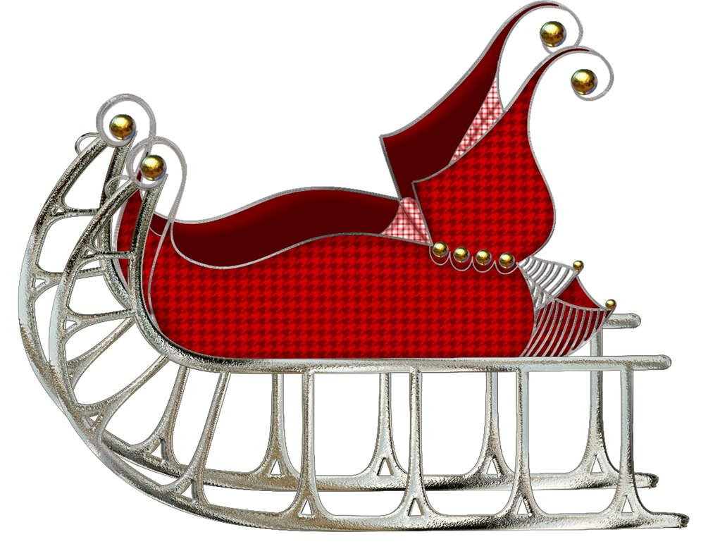 Image Result For Christmas Clipart Sleigh