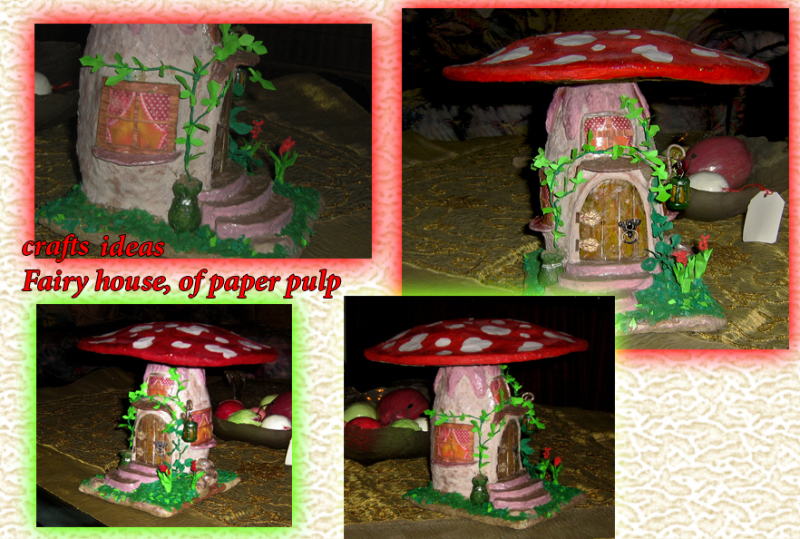 crafts: Fairy house by roula33