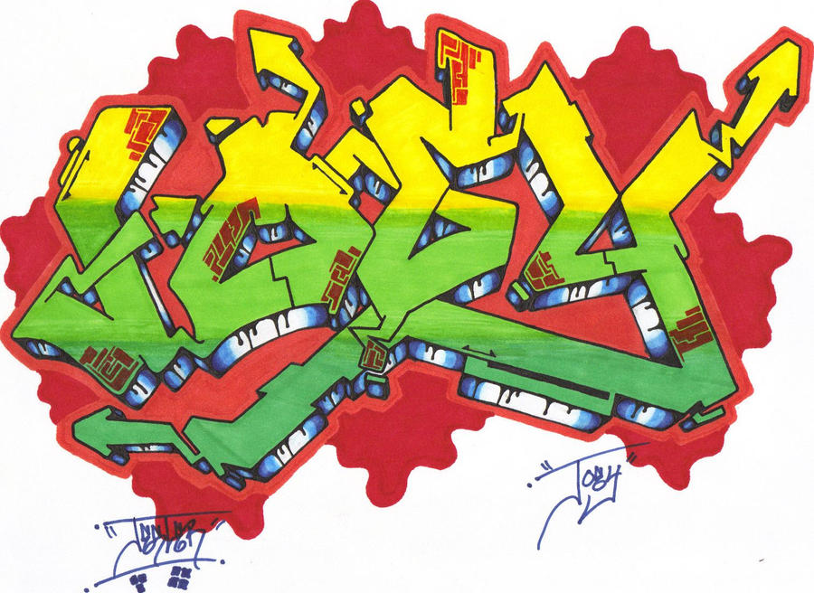 Joey Graffiti Name by GLAX34 on deviantART
