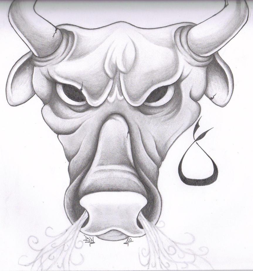Taurus Tattoo Drawings