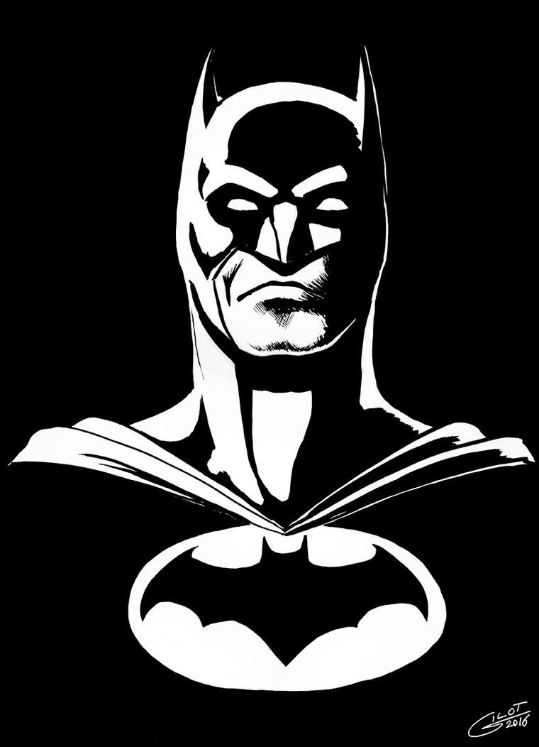 BATMAN Head by alain-gilot