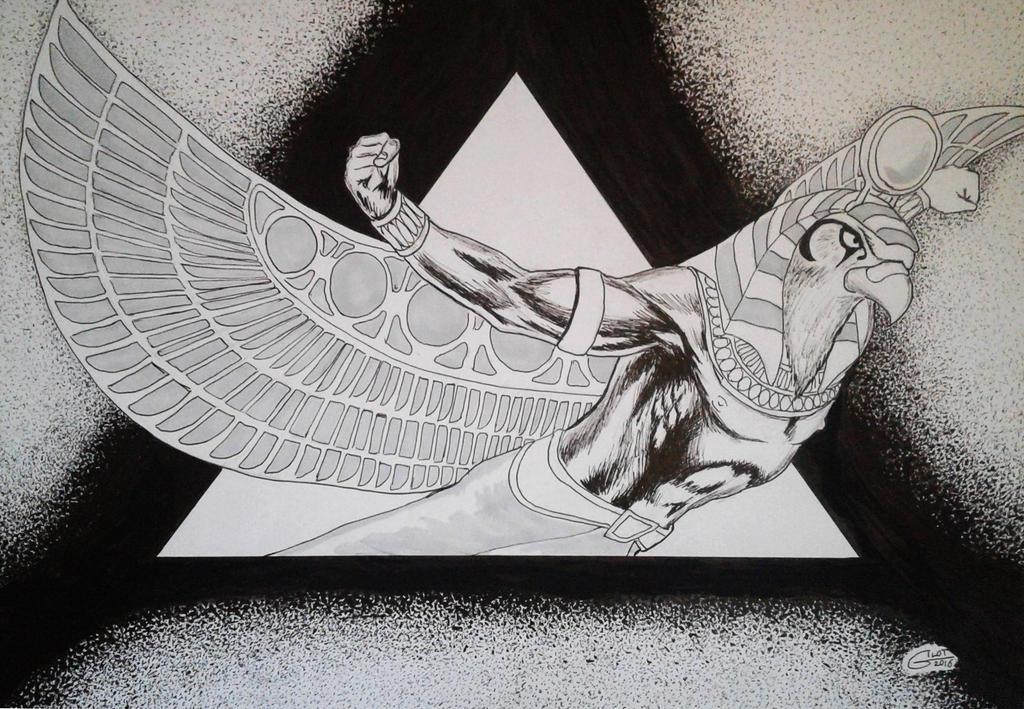 HORUS by Alain GILOT by alain-gilot