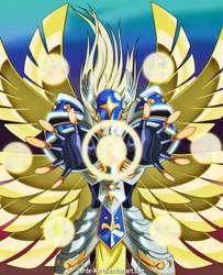 Seraphimon by Lorde-Marte