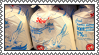 bagged milk stamp by SlSTER-SlN