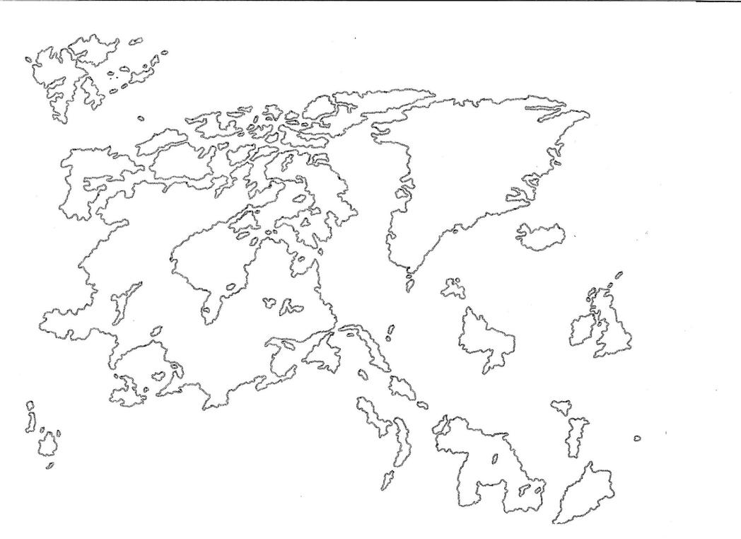 Fantasy World Map Plain By AngelKnight On DeviantArt - Plain world map images