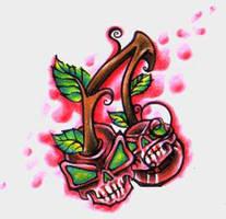 Skull cherrys by SINNERSINK