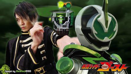 Kamen Rider Ghost Splash #1: Alain and Necrom by DaVinci030