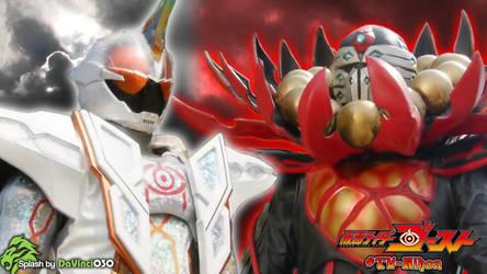 Kamen Rider Ghost Splash #3: Mugen VS P. Ganmizer by DaVinci030