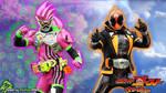 Kamen Rider Ghost Splash #4: ...with Ex-Aid by DaVinci030