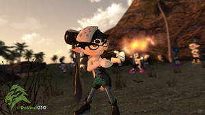 [GMOD] Callie Goes All-Out War (Old) by DaVinci030