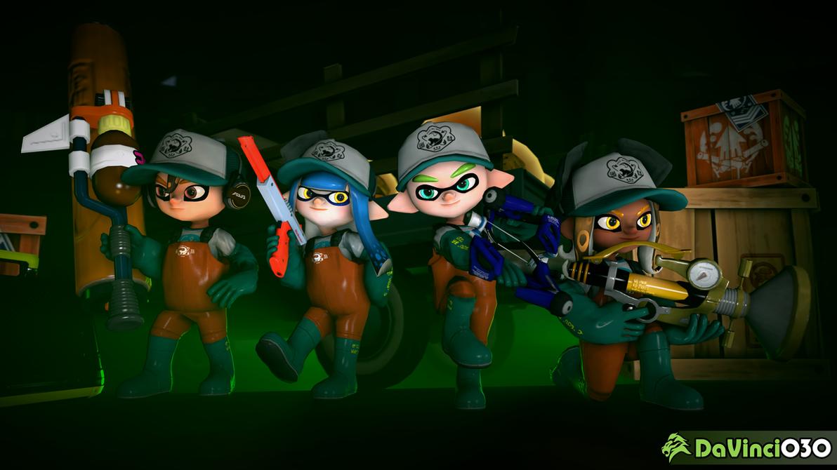 [SFM] Let's Hunt Some Power Eggs, Team! by DaVinci030