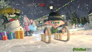 [SFM] Sledding and Playing during Christmas by DaVinci030